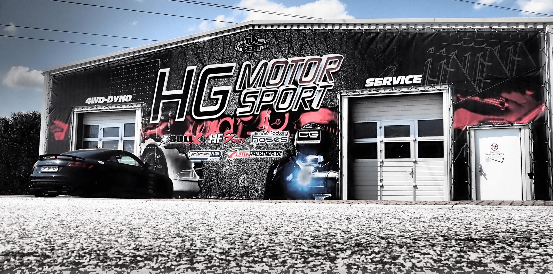 HG-Motorsport Firmengebaeude