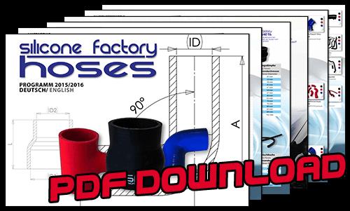 Silicone factory hoses Katalog 1516