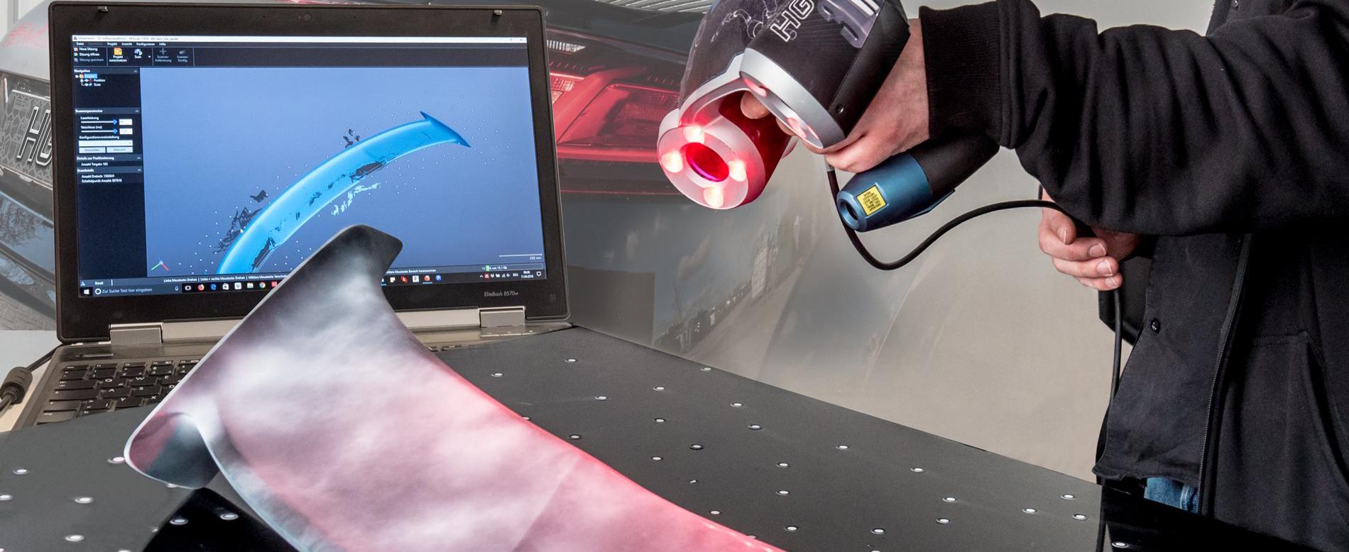 HG-Motorsport 3D-Scanner
