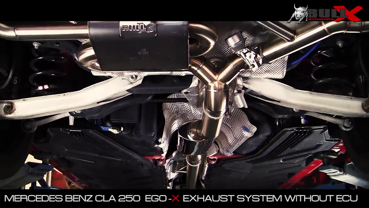 Hg Motorsport Onlineshop Ego X Race Exhaust System For Mercedes Benz Engine Cla 250 Models Without Ece