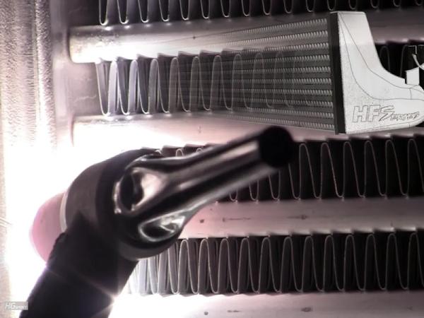 Ladeluftkühler Sonderanfertigung by HF-Series