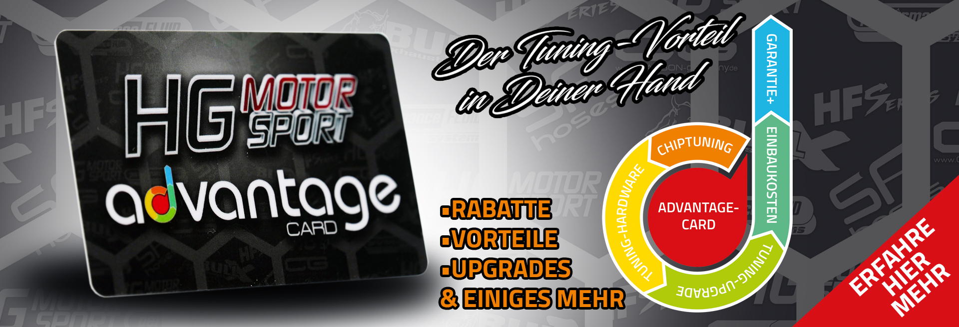 Advantage Card Shopbanner